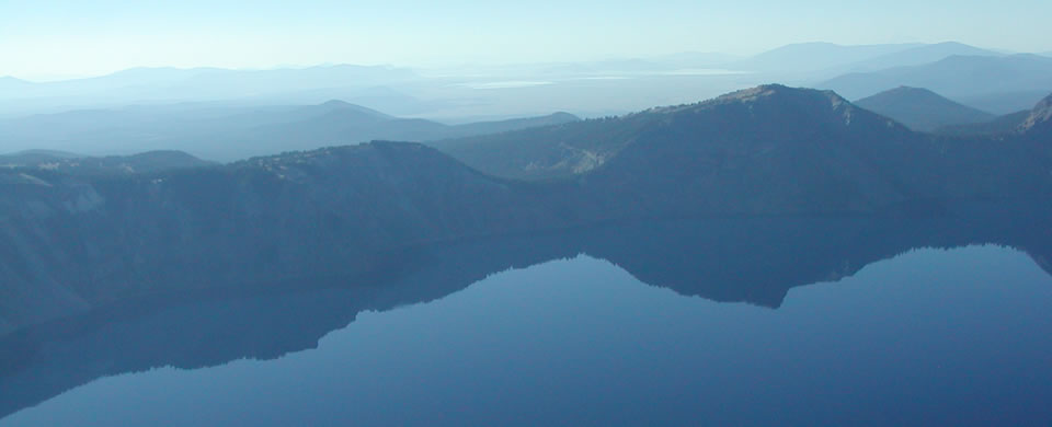 Klamath Lake Arial
